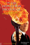 Click for a large cover of THE OIL DEPLETION PROTOCOL.